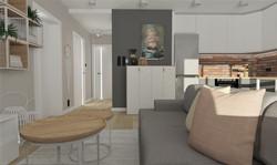 Mieszkanie ze skosami
