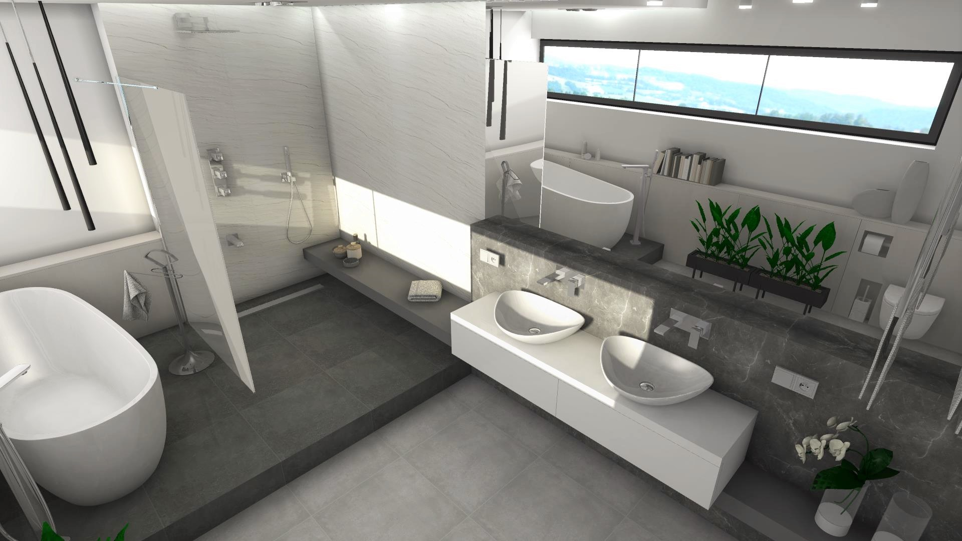 piękna_łazienka_projekt _łazienka_lubin_