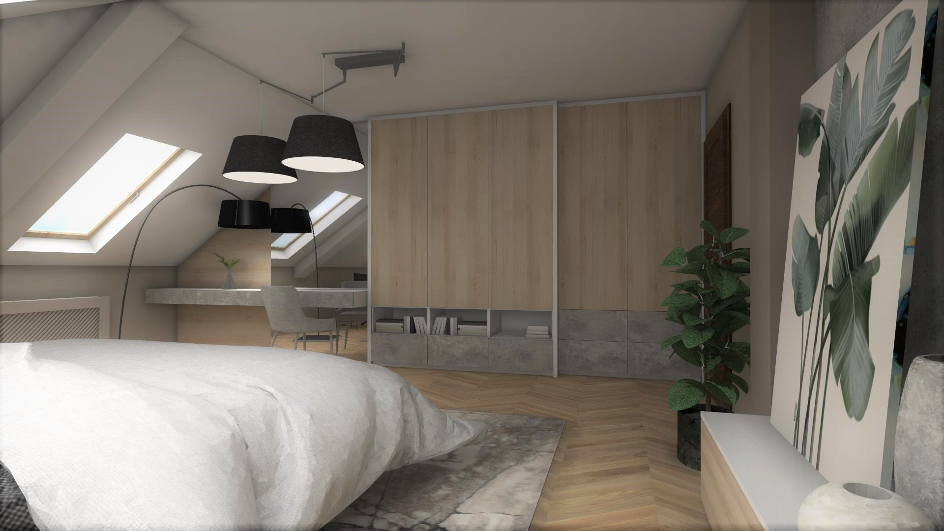 sypialnia_wnętrze_Lubin_projekt_3