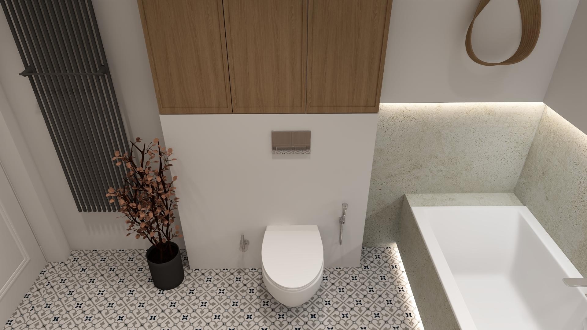 Łazienka w Domu w Lesznie
