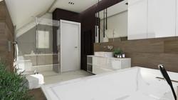 Łazienka miłośniczki elegancji