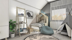 pokój dziecięcy_projekt wnętrza_Lubin_Designbox