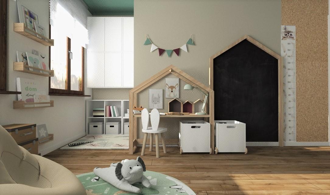 Pokoik w stylu Montessori