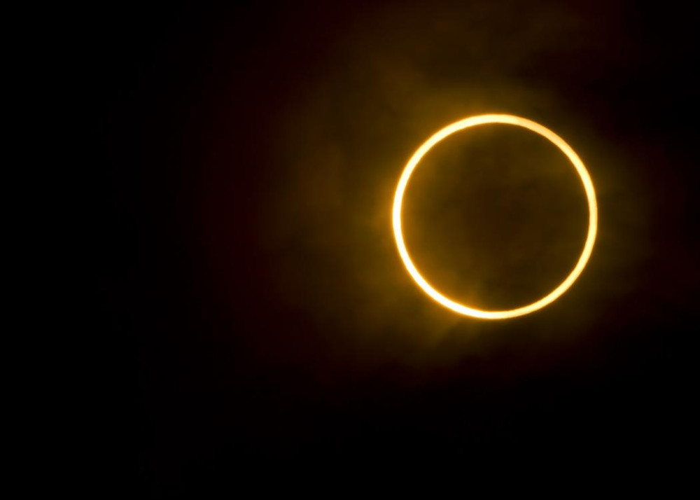 Annular Solar Eclipse in answering what would a lunar or solar eclipse look like from the surface of the moon.