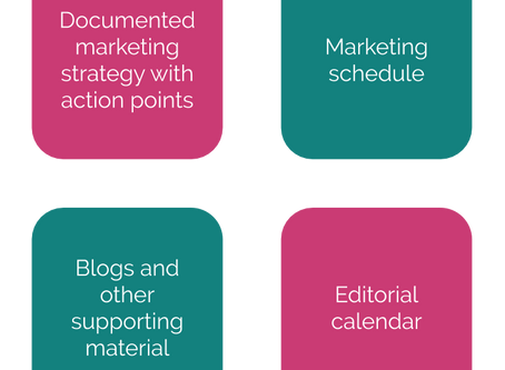 Consulting - A full marketing strategy, editorial calendar and more for an international firm
