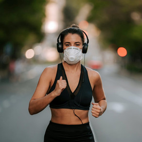 #42: No, it's not dangerous to exercise with a facemask