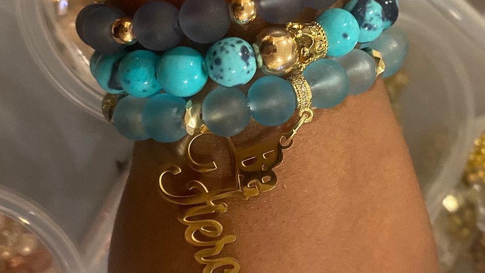 FIERCELY BLUE (g)