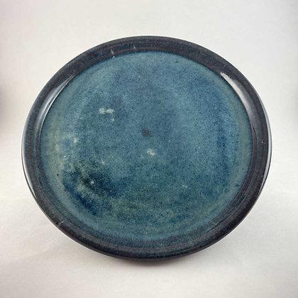 Blue Stoneware Plate