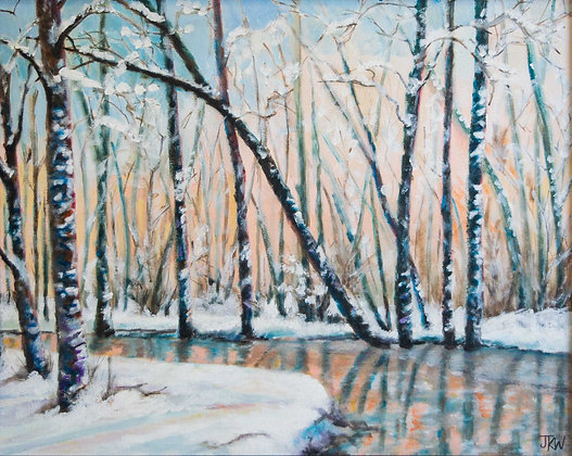 Winter, original acrylic