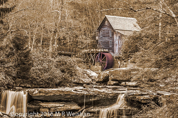 Glade Creek Gristmill #1