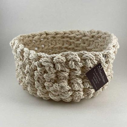 Crochet basket by Lyn Harris