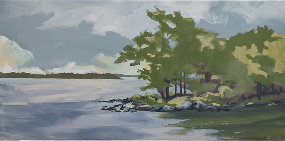 Original Painting: Long Point