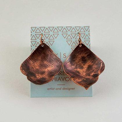 Leaf Shaped Earings