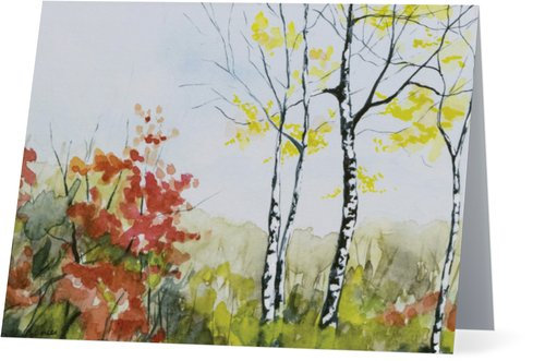 5.5 x 4 inch Spring Tree (4 Pack)