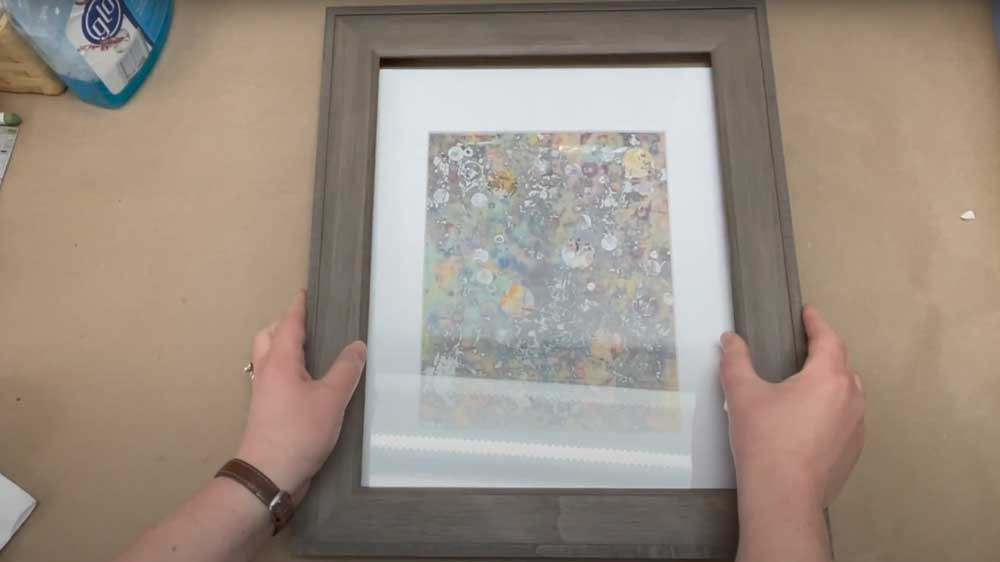 tools for framing canvas art