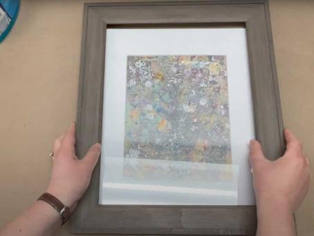 Framing Artwork Part Two: Works on Paper.