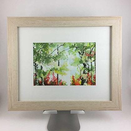 Birch Tree Landscape II