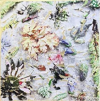 Chautauqua Nature #14, Subtractive Collage