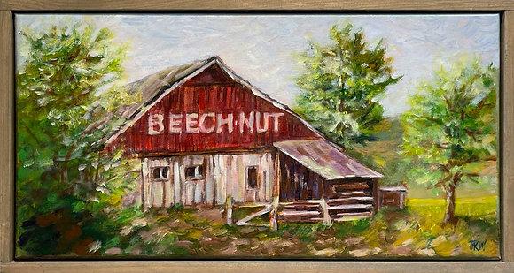 Beech-Nut Barn, original acrylic