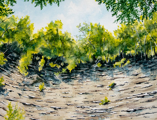 Original Painting: Chautauqua Gorge