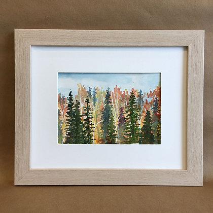 Tiny Tree Series 11199, Original Watercolor