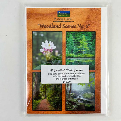 Woodland Scenes Note Cards