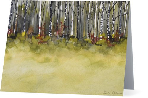 5.5 x 4 inch Field & Trees (4 Pack)