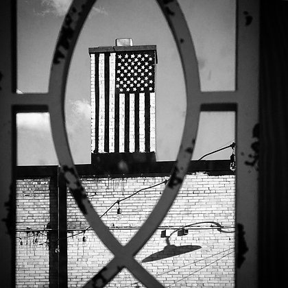 American Flag, Photograph on Paper