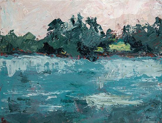 Original Painting: Chautauqua Lake