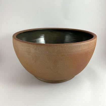 Large Stoneware Bowl, Celadon Glaze