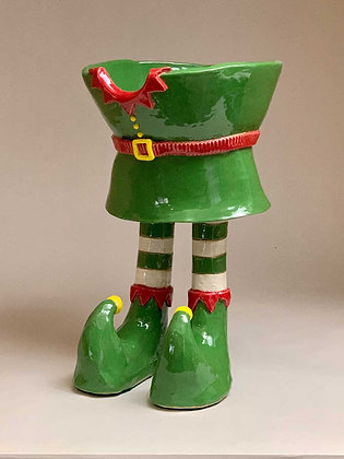 """""""Elf"""", Footed Bowl"""