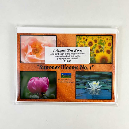Summer Blooms Note Cards