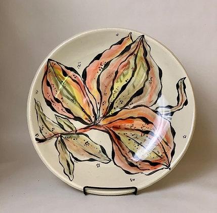 Fall Flower Bowl