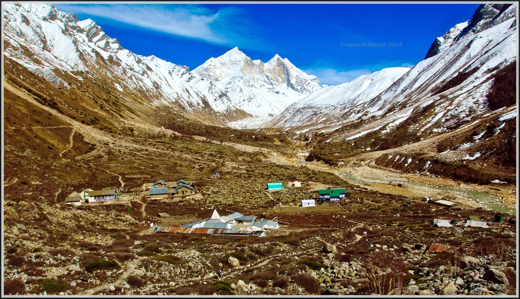 Bhojwasa, base camp of Gaumukh