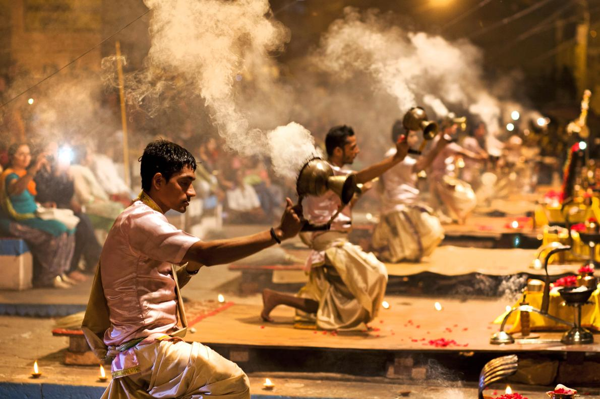 Ganga Arti at Varanasi