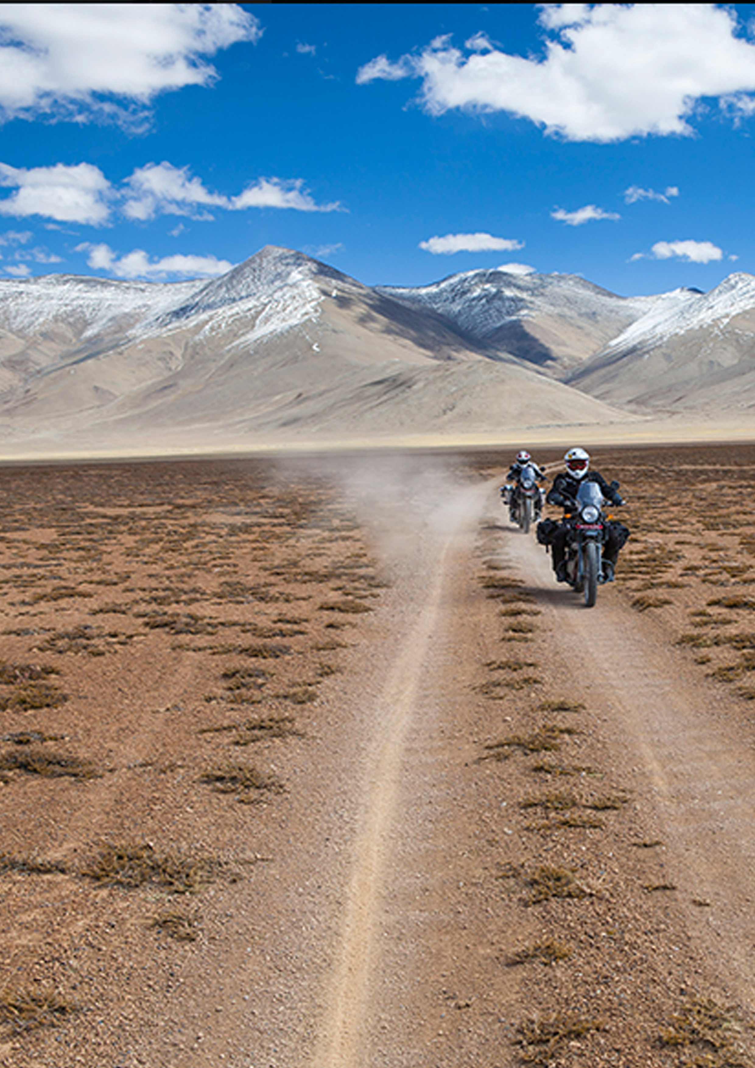 Off-riding on the way to Leh