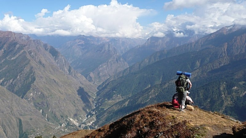 View of the Ganga Valley