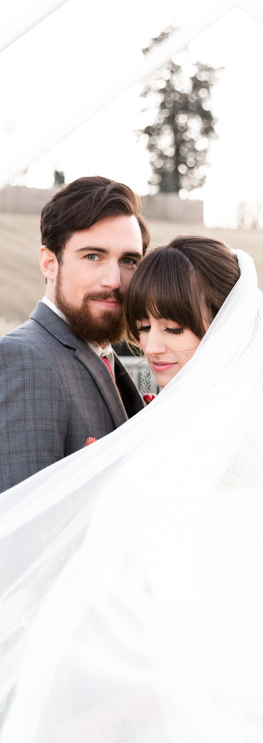 Noelle + Simon January Wedding