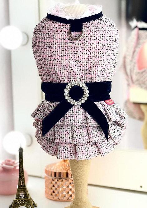 Vestido Pele Tweed Clássico