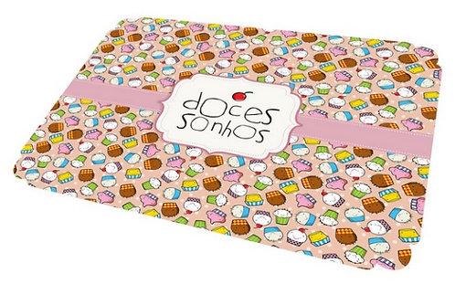 Jogo Americano Cupcakes Rosa