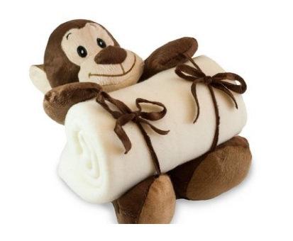 Cobertor Pelúcia Macaco