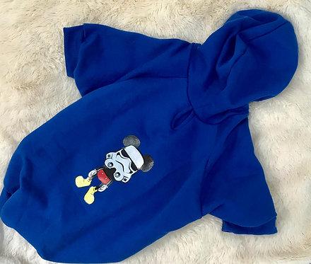 Moletom Mickey Stars Wars Azul Royal