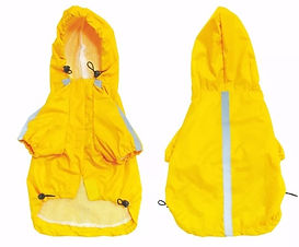 capa de chuva tamanho 12 e 14 amarela.jp
