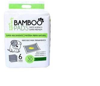 Tapete Higiênico Super Premium Bamboo Pads