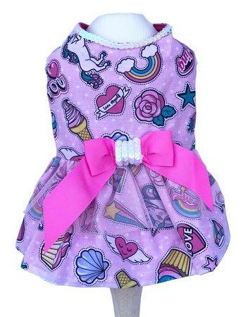 Vestido Pop Pink