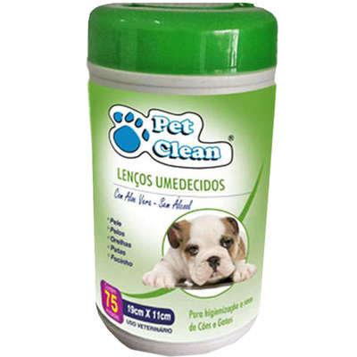 Lenço Umedecido Para Pets