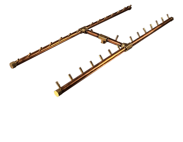 CROSSFIRE Brass Burner