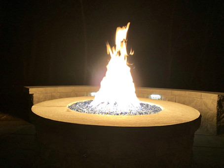 Convert Your Wood Burning Fire Pit to Gas