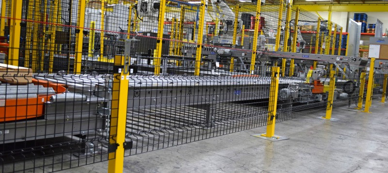 Warehouse Industrial Wire Mesh Malaysia