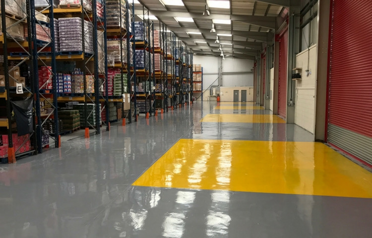Industrial flooring contractor Malaysia